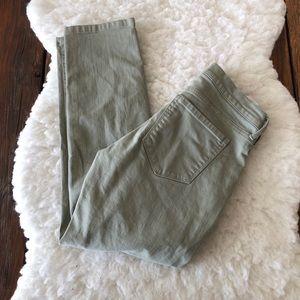 Banana Republic Girlfriend Jeans in Green Size 25